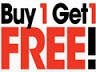 Buy 1 Get 1 Free at Gradshop.com