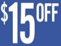 $15 off $60 on Athletic Purchases